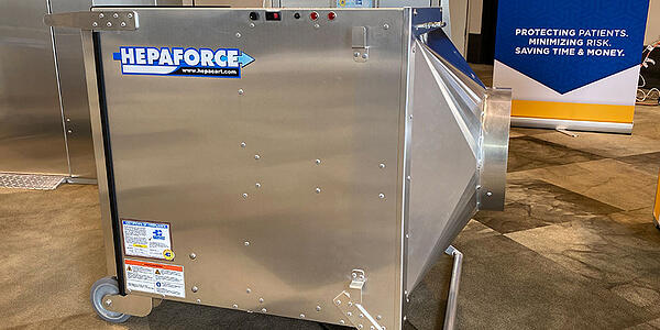 HEPAFORCE® AIR Negative Air Machine & Scrubber