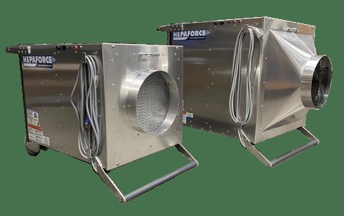 AIR 1100 & AIR 2100 Negative Air Machines
