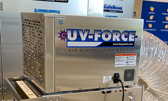 UV-FORCE Airborne Disinfection Module