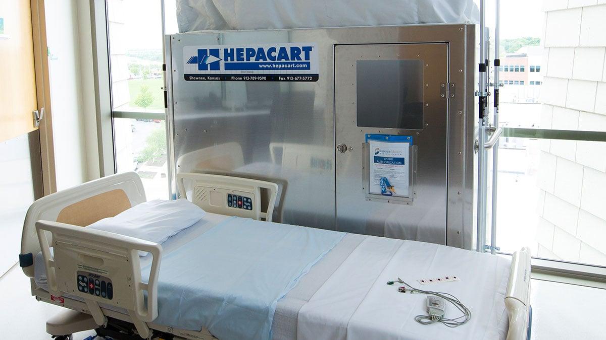 HEPACART® Dust Containment Cart