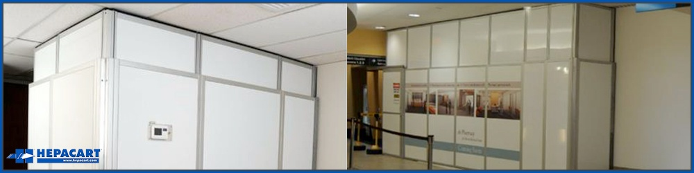 Temporary Walls Construction : Uses for temporary walls in healthcare construction