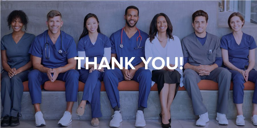 A Thank-You to Healthcare Workers Facing the COVID-19 Pandemic